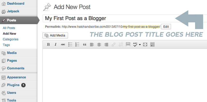 Writing A Blog Post