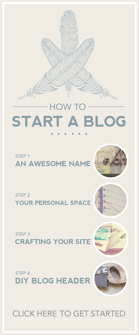 How To Start A Blog by Hatch and Scribe