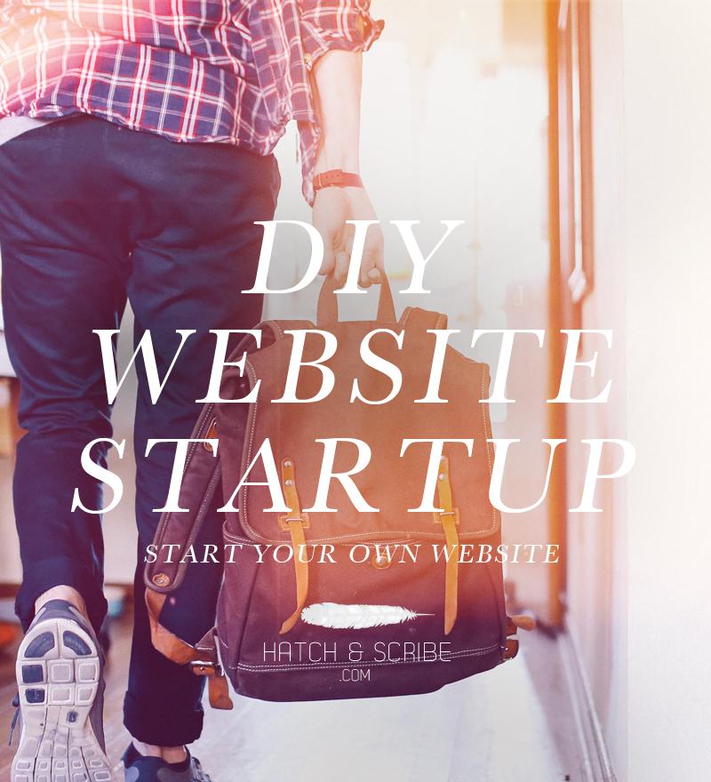 Start a Website DIY