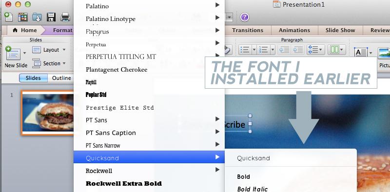 Quicksand Font