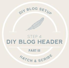 DIY Blog Header Part III