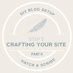 Start Blogging Part 2